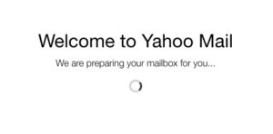 sign up for a Yahoo email account