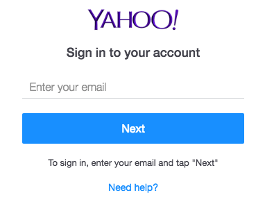 go to yahoo mail