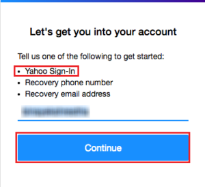 yahoo e mail