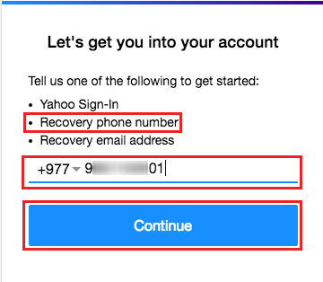 yahoo email problem today