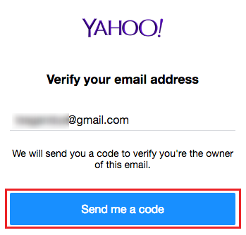 create yahoo email account