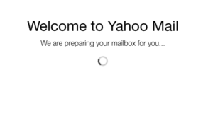 yahoo new account